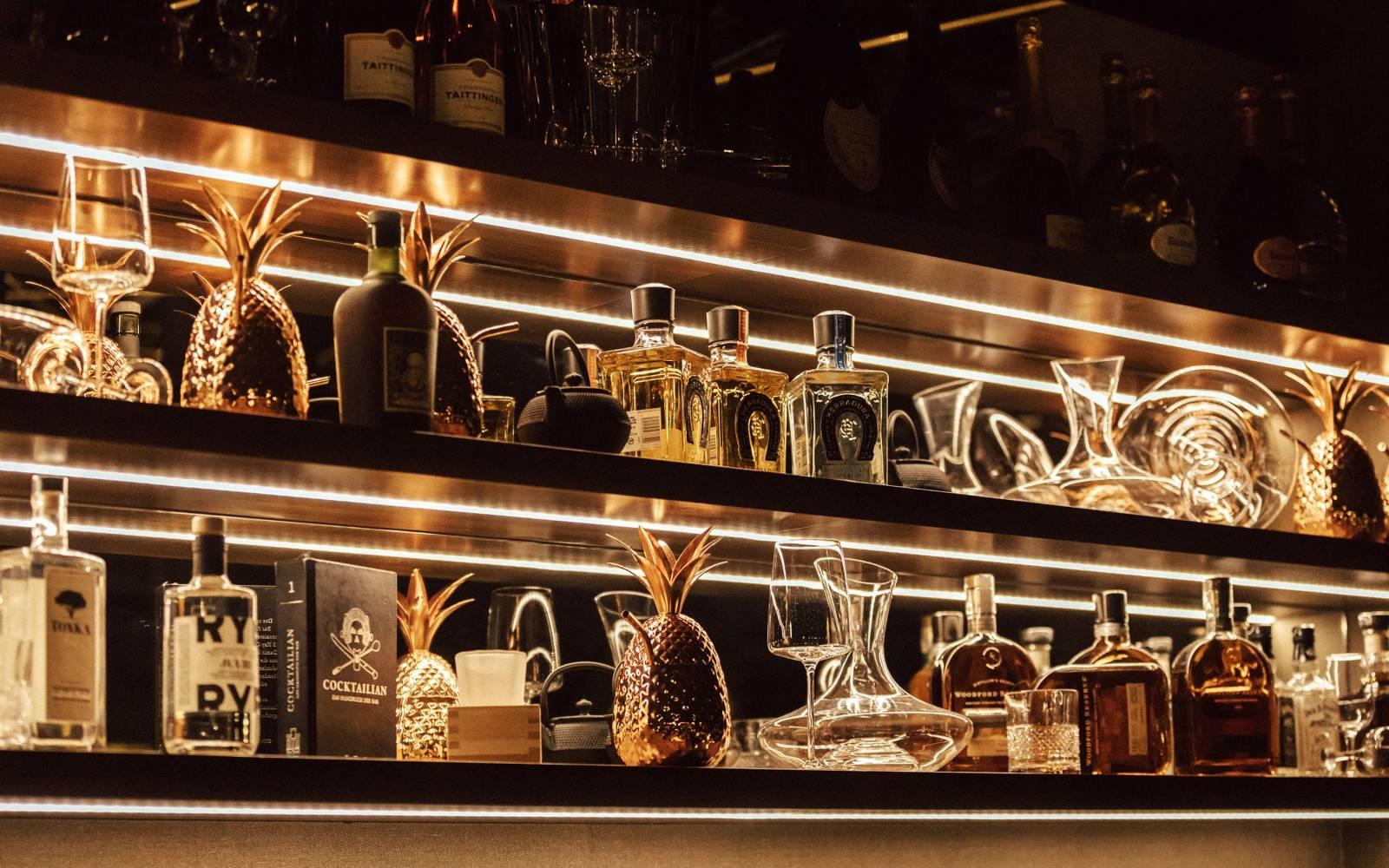Qomo Restaurant Bar Tv Tower Dusseldorf